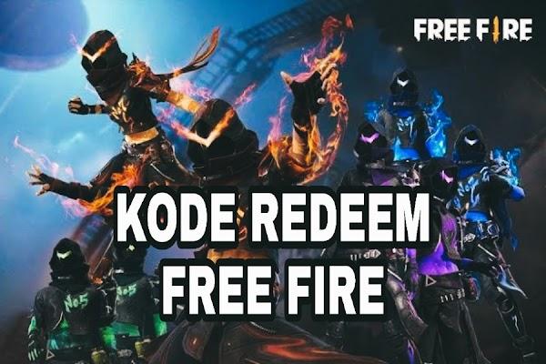 Klaim Kode Redeem Garena Free Fire Hari Ini
