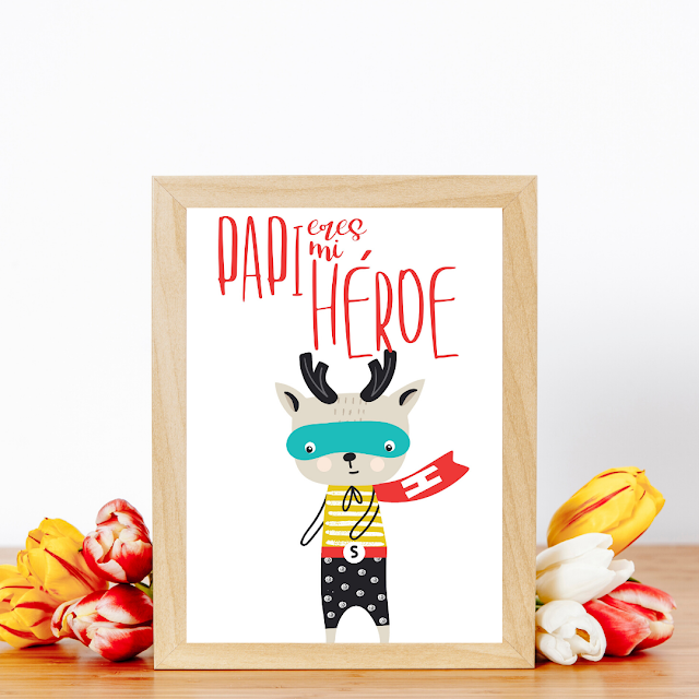 laminas, dia, del padre, imprimibles, etiquetas, regalos, papa, papi