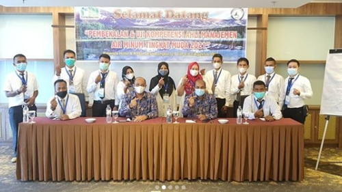Hendra Pebrizal Buka Pelatihan Manajemen Air Minum Tingkat Muda Angkatan II