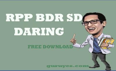 Download RPP 1 lembar Daring SD Kelas  4
