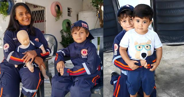 7-летний мальчик спас своего брата благодаря знаниям оказания первой помощи