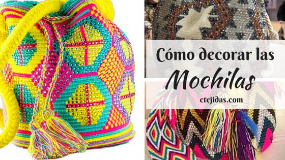 Cómo Decorar con Piedras las Mochilas Wayúu