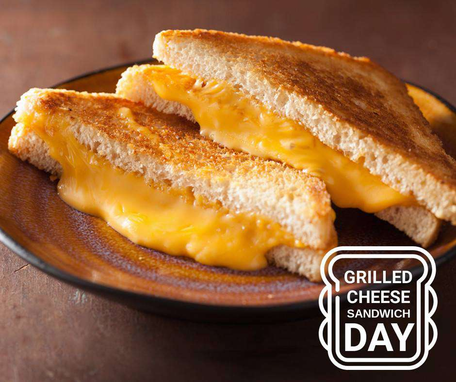 National Grilled Cheese Sandwich Day Wishes Unique Image