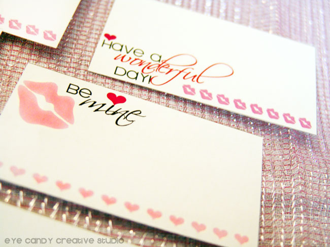 lunchbox notes, valentines day, love notes, family love notes