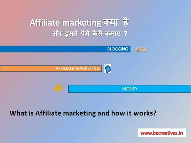 affiliate marketing kya hai ( what is affiliate marketing?) ? और इससे paise kaise kamaye? जानिए hindi मे -2021
