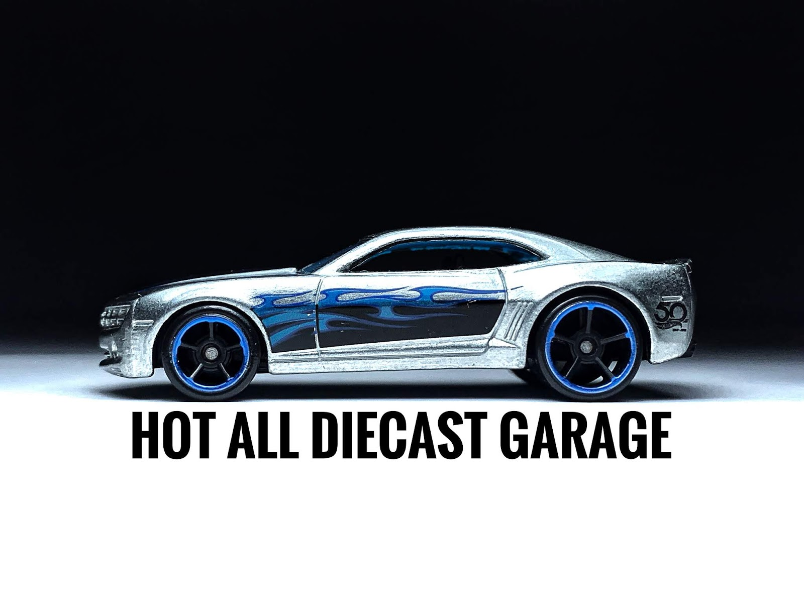 Hot Wheels /'70 Camaro Green Race Car HW Speed Graphics #7//10 Die-Cast 1:64 Scale