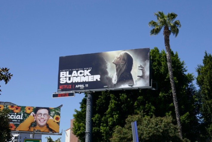 Black Summer Netflix billboard