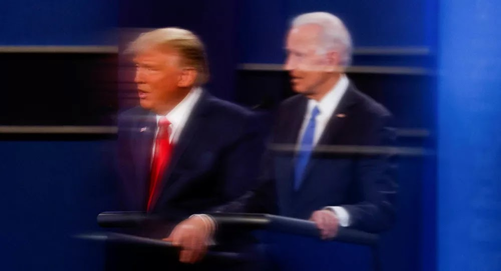 ترامب: بايدن يدمر كل شيء والإعلام يصنع الرعب قبل الانتخابات