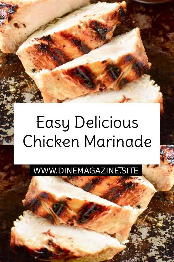 Easy Delicious Chicken Marinade Recipe #easychickenrecipe #chickenrecipe #dinner #easydinner #easydinnerrecipe #maindish #dish #delicious #chicken