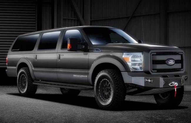 2017 Ford Excursion Release Date