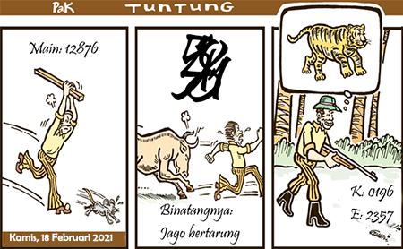 Prediksi Pak Tuntung Sdy Kamis 18 Februari 2021