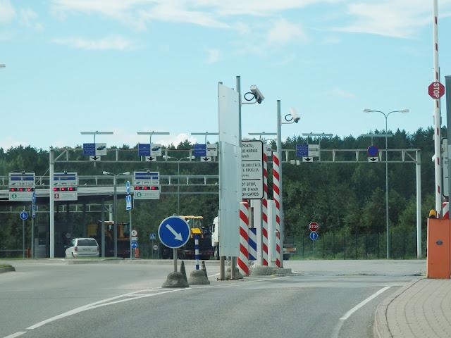 Przed estońską kontrolą (Koidula/Kuniczina Gora).