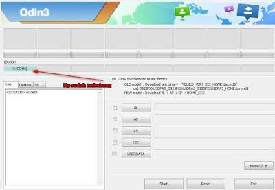 Cara Flash Samsung J2 Prime g532g