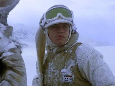 Luke Skywalker sul pianeta di Hoth