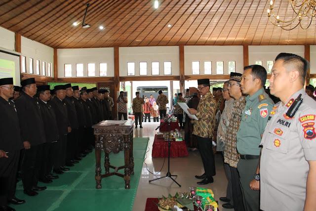 Kodim Sragen - Pelantikan Pengurus Dan Personalia Dewan Pimpinan Daerah Lembaga Dakwah Islam Kab Sragen