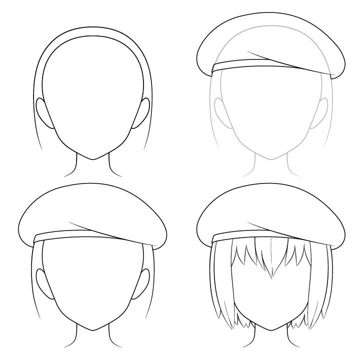 Gambar baret anime selangkah demi selangkah
