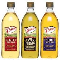 Crisco Olive Oils for Thrush