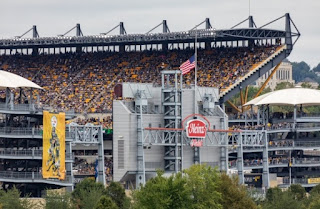 Heinz Field Stadium, where steelers and Ravens played the Sunday game