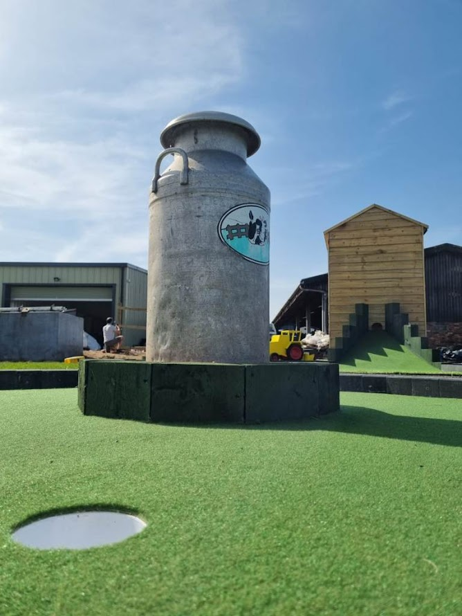 Daisy Made Farm Minigolf in Skellingthorpe. Photo by James Palmer, UrbanCrazy 2021