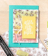 9 Flowering Foils DSP Projects + Technique Video ~ Stampin' Up! Sale-a-Bration 2020 #stampinup #saleabration