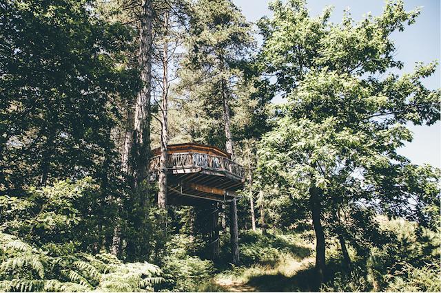 Dormire in una casa sull'albero Spagna