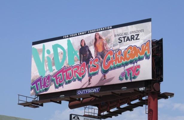 Vida season 2 Emmy FYC billboard