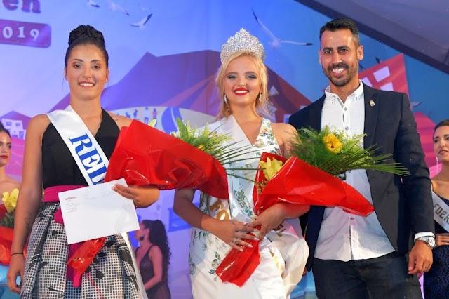Fuerteventura.-  Giulia Mazzanti , Reina de las Fiestas del Carmen  de Corralejo 2019