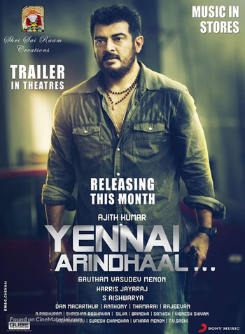 Yennai Arindhaal 2015 Dual Audio ORG Hindi 720p HDRip 1.5GB DD5.1Ch ESubs poster