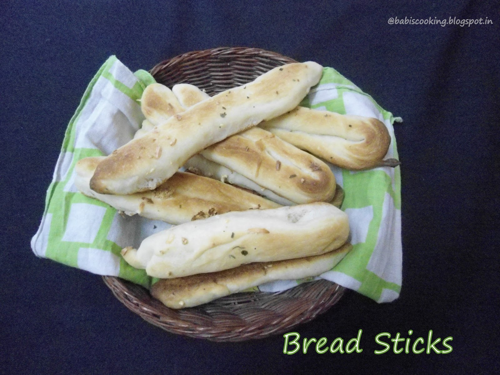 Breads  Sticks  | How to make Bread Sticks