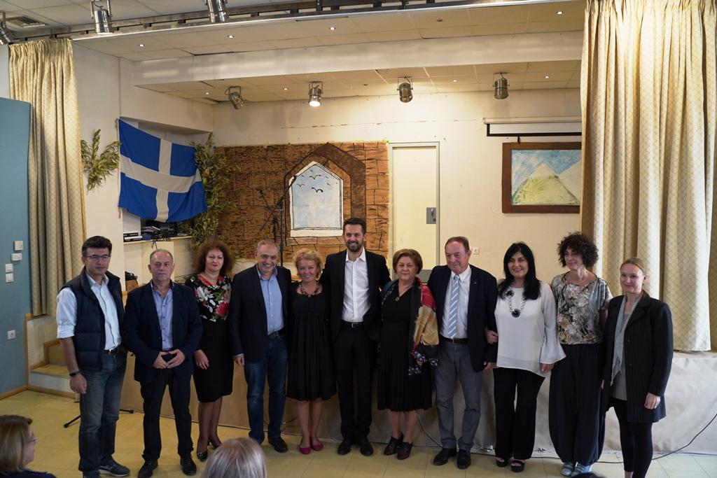 Στην Λάρισα στελέχη εκπαίδευσης απο την Σερβία