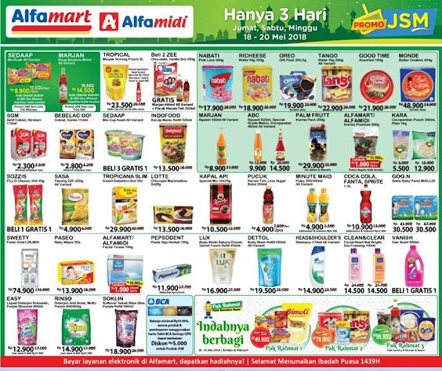 Katalog Promo JSM ALFAMIDI Terbaru 2018