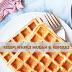 Resepi Waffle Mudah & Ringkas