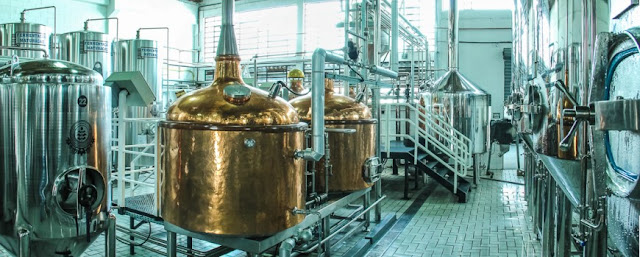 Fábrica da Cervejaria Premium Paulista