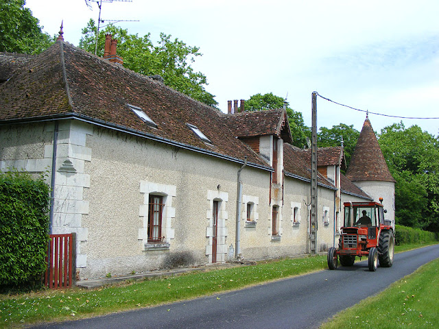 Barn, Chateau de l'Effougeard, Indre. France. Photographed by Susan Walter. Tour the Loire Valley with a classic car and a private guide.