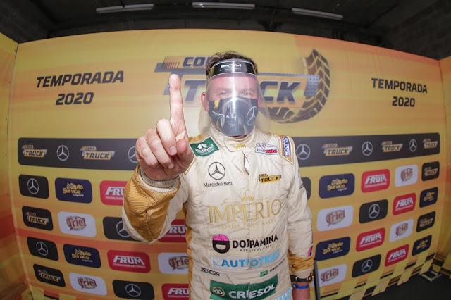 Cirino garantiu a pole na primeira etapa da temporada