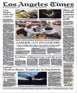 Los Angeles Times Magazine 30 November 2020 | Los Angeles News | Free PDF Download