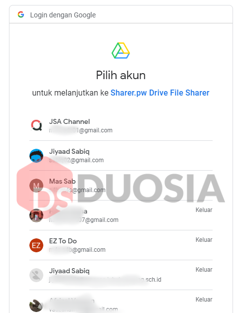mengatasi limit google drive 2020