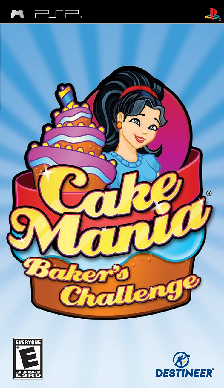 Cake Mania - Bakers Challenge - PSP - ISO Download