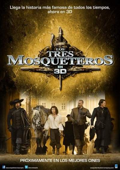 Los Tres Mosqueteros DVD NTSC Latino ISO