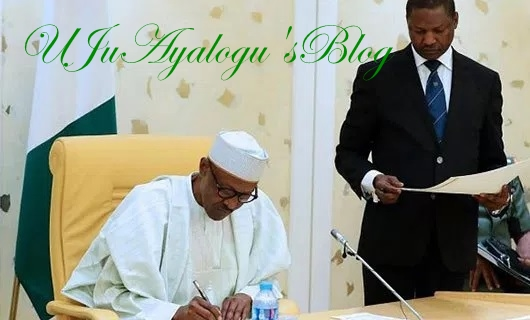 BREAKING: Buhari Signs Presidential Proclamation Proscribing IPOB As Terror Group