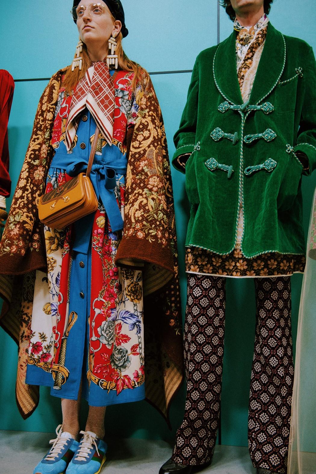 c4d24cb5a Runway: Gucci Fall 2018 Ready-to-wear Milan Fashion Week   Cool Chic ...