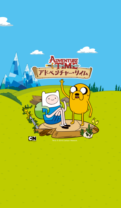Adventure Time Basic Theme