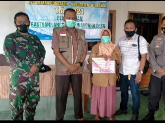 Pemerintah Desa Bungatan Kecamatan Bungatan Kembali Salurkan BLT DD Kepada Masyarakat Yang Terdampak Pandemi Covid 19