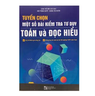 Tuyển chọn một số bài kiểm tra tư duy toán và đọc hiểu ebook PDF EPUB AWZ3 PRC MOBI
