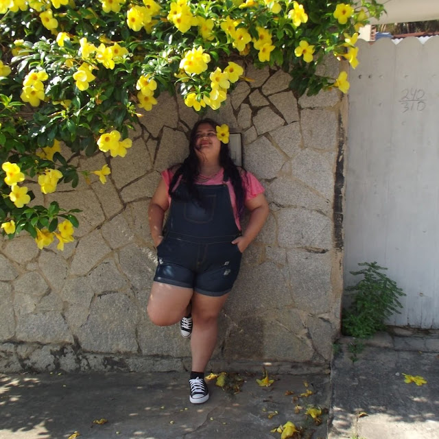 Jardineira plus size