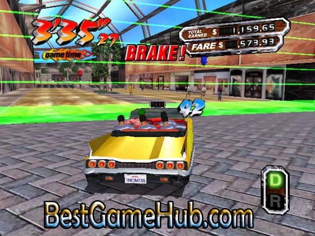 Crazy Taxi Sega Games Free Download