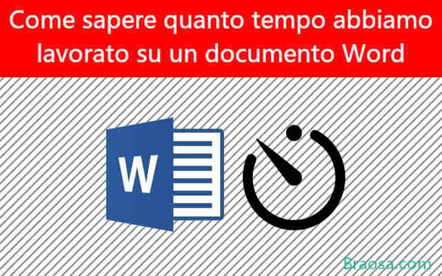 Come sapere quanto tempo hai lavorato su un documento di Microsoft Word