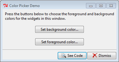 Py In My Eye: Tkinter Color Picker Demo
