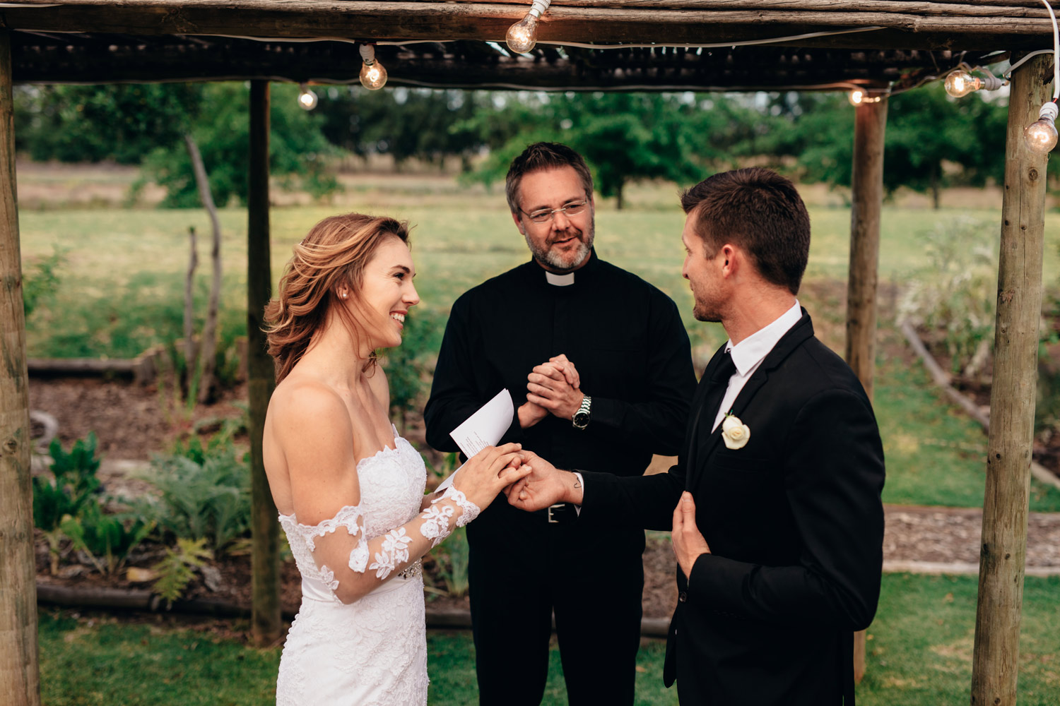 sweet wedding vows for her