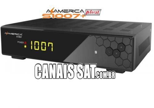 Azamerica S1007 Plus HD Atualização V1.09.22597 - 23/03/2021